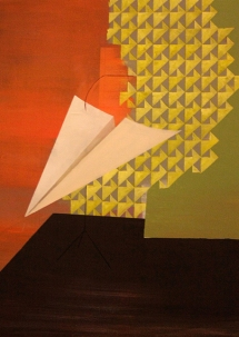 Bild V_S015, oil on canvas, 80 x 60 cm