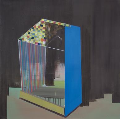 Bild_016_IV, oil on canvas, 60 x 50 cm