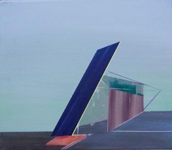 Bild_A015_V, oil on canvas, 24 x 30 cm