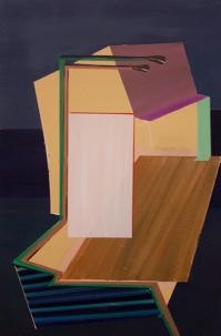 Bild_A015_XIII, oil on canvas, 60 x 40 cm