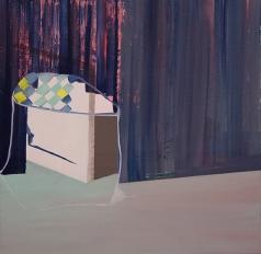 Bild_A015_XIV, oil on canvas, 53 x 53 cm