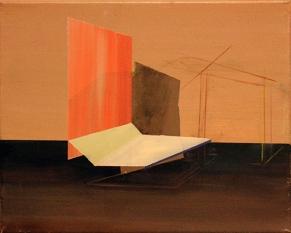 Bild_A015_XVIII, oil on canvas, 24 x 30 cm