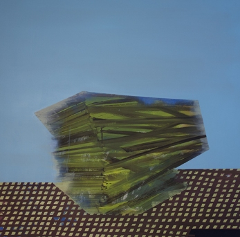 Bild_V_017, oil on canvas, 95 x 95 cm