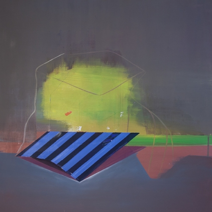 Bild_VI_017, oil on canvas, 100 x 100 cm