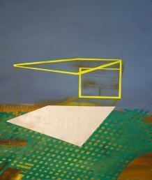 Bild_XIII_017, oil on canvas, 95 x 80 cm