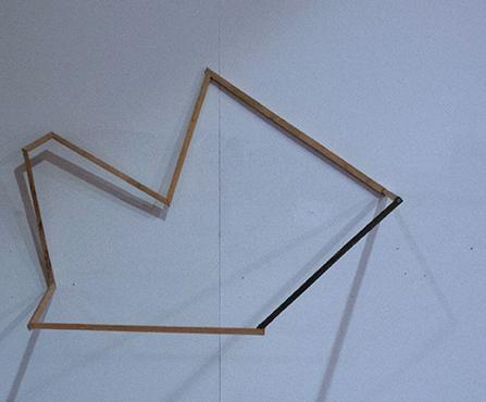 Objekt_A015_II, wood, 140 x 80 x 50 cm