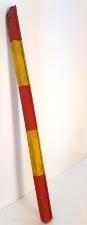 Objekt VIII_017, wood, 6,5 x 7 x 135 cm