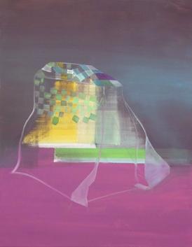Bild III, oil on canvas, 70 x 55 cm