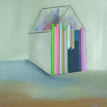 Bild IV, oil on canvas, 60 x 60 cm