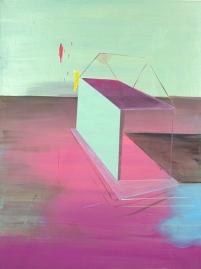 Bild XIII, oil on canvas, 80 x 60 cm