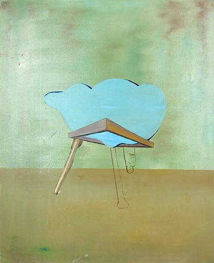 Bild XVI, oil on canvas, 120 x 80 cm