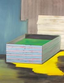 Bild XVIII, oil on canvas, 190 x 145 cm