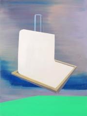Bild XXI, oil on canvas, 80 x 60 cm