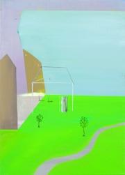 Bild XXIII, oil on canvas, 70 x 50 cm