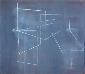 Bild XXIV, oil on canvas, 80 x 80 cm