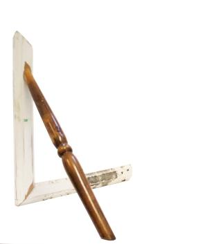 Objekt IV, wood, 48 x 48 x 38 cm