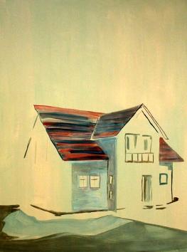 Worthy, oil on canvas, 140 x 115 cm